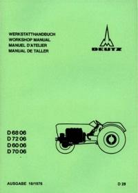 Deutz D6006 Traktor | Geschichte, Handbücher, Technische Daten ...